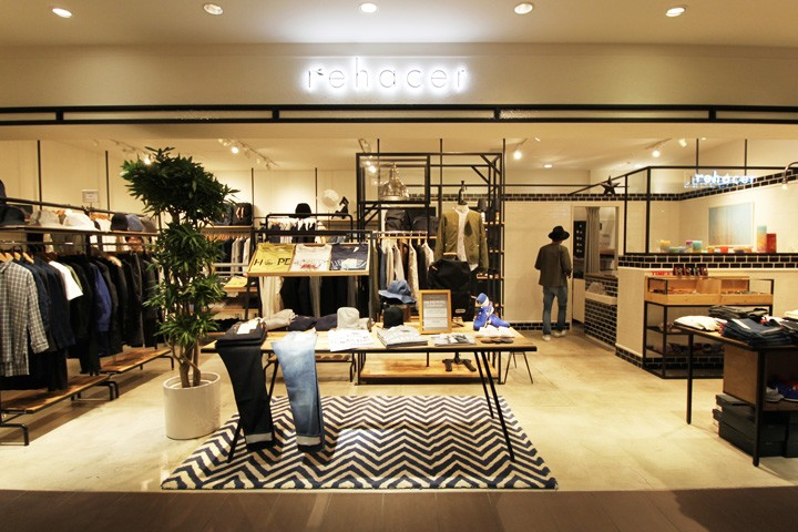 rehacer-store-by-curage-design-office-Osaka-Japan