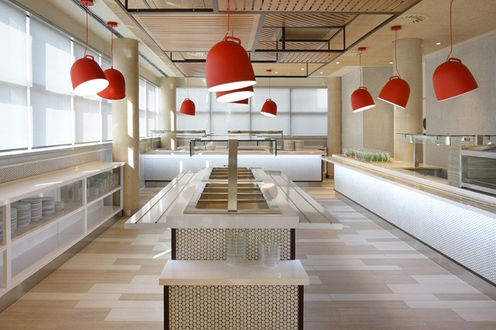 Coca-Cola-HQ-canteen-by-Stone-Designs-Madrid-Spain