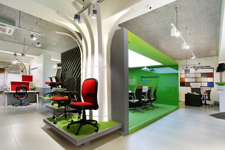 Godrej-Interio-B2B-store-by-Four-Dimensions-Pune-India