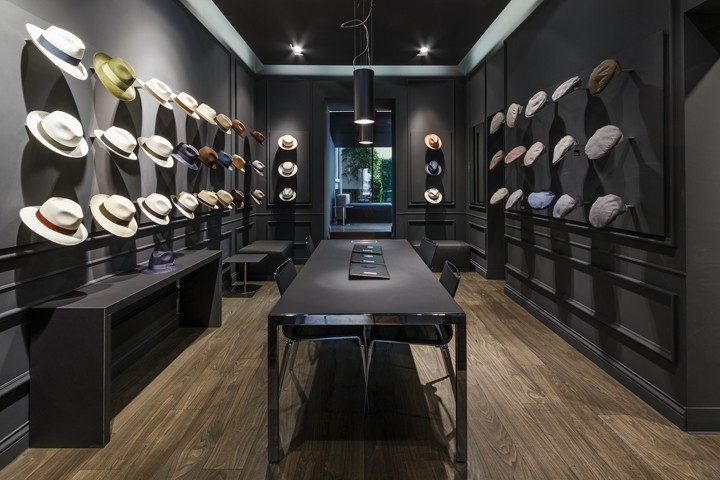 Borsalino-flagship-store-and-showroom-by-Newtone-Milan-Italy
