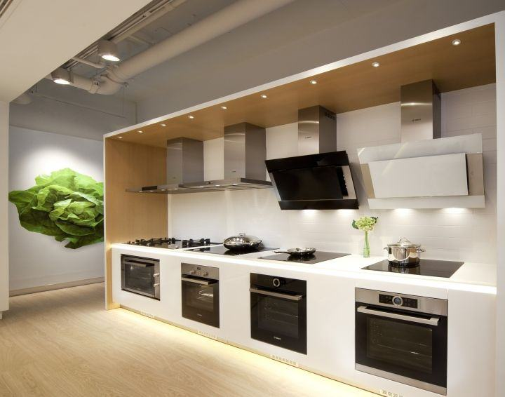 Bosch galleria Kitchen design for elderly