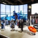 360° Smart Performance booth for ROY ROBSON服装店设计